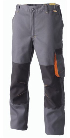 PANTALON G-ROK GRIS/ CARB/ ORANGE