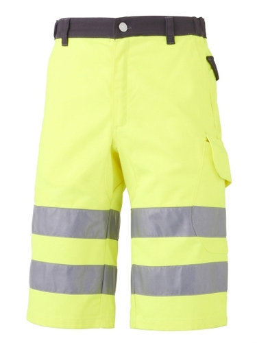 BERMUDA LUK-LIGHT JAUNE+GRIS